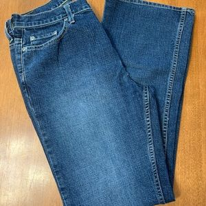 OLD NAVY BOOT CUT AT WAIST STRETCH JEANS - Sz. 10S
